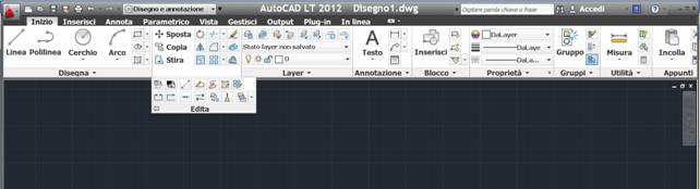Autocad 2012 toolbar