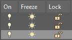 on freeze lock